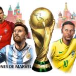 Los cómics Mundialistas de Marvel